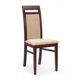 Jídelní židle ALBERT, ořech tmavý
