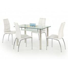 Smartshop Jídelní stůl OLIVIER, kov/sklo