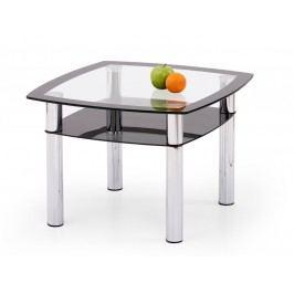 Smartshop Konferenční stolek SALOME KWADRAT, kov/sklo