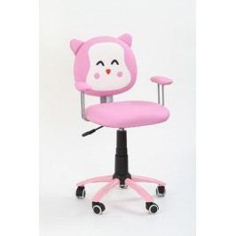Dětská židle KITTY, růžová