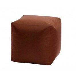 Idea CUBE, sedací taburet V23, hnědá