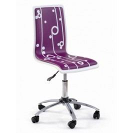 Halmar Dětská židle FUN-4, fialová