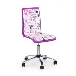 Dětská židle FUN-7, fialová