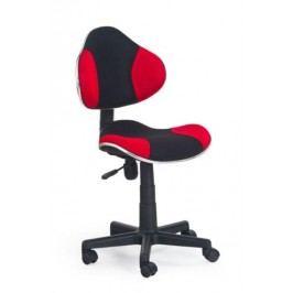 Dětská židle FLASH, černá/červená