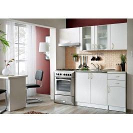 Smartshop Kuchyně JOLANA II 120/180 cm, bílá