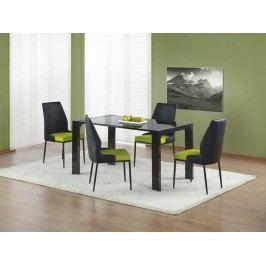 Jídelní stůl KEVIN, černý lesk