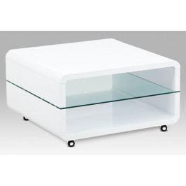 Konferenční stolek AHG-615 WT, bílý lesk