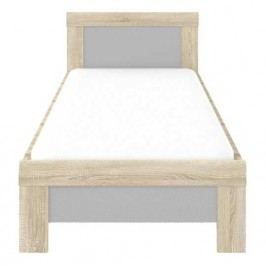 Forte YOOP, postel YPL09, dub sonoma/antrac. šedá