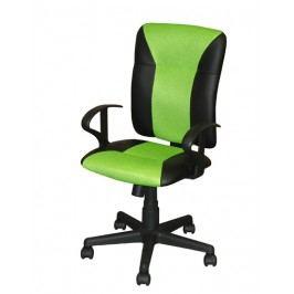 Idea Kancelářské křeslo KING zelené