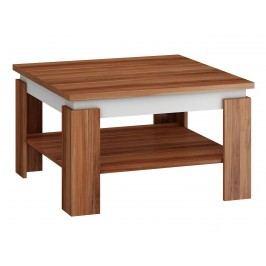 Konferenční stolek ALFA, švestka wallis/bílá