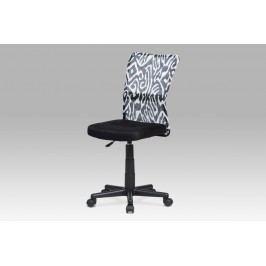 Autronic Dětská židle KA-2325 BKW, černá s motivem