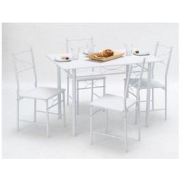 DEMEYERE WITNEY, jídelní set 1+4, bílá