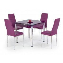 Jídelní stůl rozkládací KENT, fialový