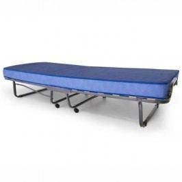 Skládací postel LUXOR 90x200 cm včetně roštu a matrace