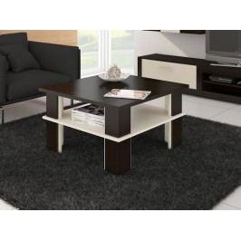 MORAVIA FLAT Konferenční stolek FUTURA 1, wenge/krém