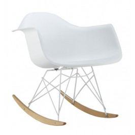 Houpací židle MONDI II, bílá