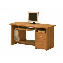 Tempo Kondela PC stůl se zásuvkami OSCAR, PC1, třešeň