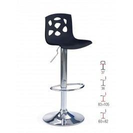 Barová židle H-48, černá