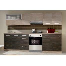 Smartshop Kuchyně LIMED 180/240, limed wood/merapi