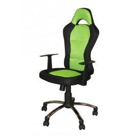 Kancelářské křeslo CEZAR zelené