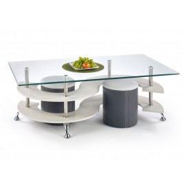 Halmar Konferenční stolek NINA 5, šedý