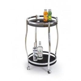 Smartshop Barový stolek BAR-8, černá
