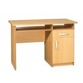 MORAVIA FLAT  PC stůl se skříňkou JAS 2, barva: