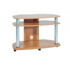 MORAVIA FLAT Televizní stolek FLASH 2/D, barva: