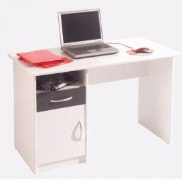 ORFA MIX Psací stůl MICRO M08, bílá/černá