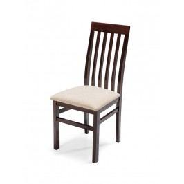 Čalouněná jídelní židle QUEEN PLUS, wenge