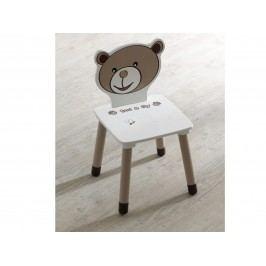 DEMEYERE TEDDY & LILY, židle, béžová/čokoládová