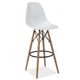Barová židle ENZO H1, bílá