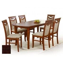 Jídelní stůl rozkl. FRYDERYK 160/240, ořech tmavý