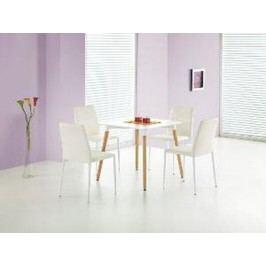 Jídelní stůl SOCRATES čtverec, bílý