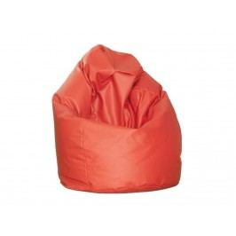 BAG, vak na sezení, červená ekokůže D-12