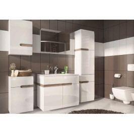 Extom LINATE, koupelnová sestava, alpská bílá/trufla