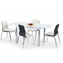 Jídelní stůl rozkládací L31, bílý
