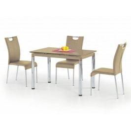 Jídelní stůl rozkládací L31, béžový