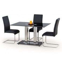 Smartshop Jídelní stůl WALTER 2, kov/sklo