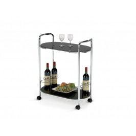 Barový stolek BAR-3, černý