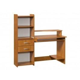 MORAVIA FLAT PC stůl s nástavcem SATURN, barva: