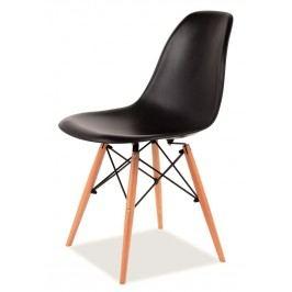 Jídelní židle ENZO, černá