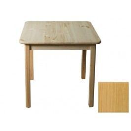 Stůl 70 x 70 cm nr.2, masiv borovice/moření olše
