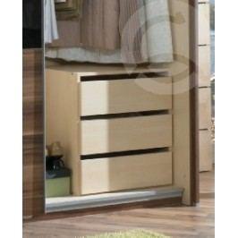 Casarredo vnitřní zásuvky (3 ks) do skříně SUZAN šířka 74 cm