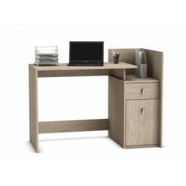 DEMEYERE MEGIA, psací stůl, dub sonoma