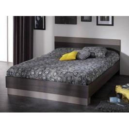 DEMEYERE GRAFIC, postel 140x190 cm, dub vulcano/čedič