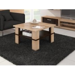 MORAVIA FLAT Konferenční stolek FUTURA 1, dub sonoma/dub sonoma tmavá