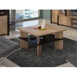 MORAVIA FLAT Konferenční stolek VECTRA 1, dub sonoma/dub sonoma tmavá