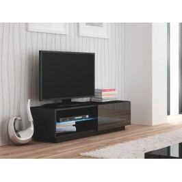 LIVO RTV-120S televizní stolek stojící, černá