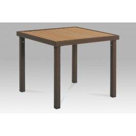 Smartshop Zahradní jídelní stůl SBNZ-090 BR hnědý